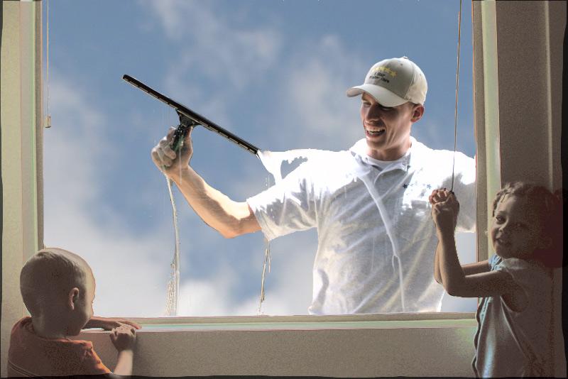 how to clean single hun windows